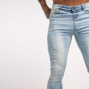 BASIC SKINNY JEANS LIGHT BLUE - Kakahu Store