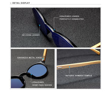Load image into Gallery viewer, BAMBOO HAVANA SUNGLASSES