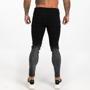 BLEND SKINNY JEANS WASHED BLACK