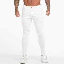 Load image into Gallery viewer, BASIC SKINNY JEANS WHITE