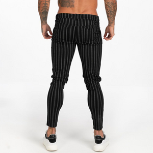 STRIPED TROUSERS BLACK/WHITE