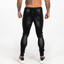 Load image into Gallery viewer, OBSIDIAN SKINNY JEANS WASHED BLACK