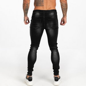 OBSIDIAN SKINNY JEANS WASHED BLACK