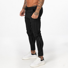 Load image into Gallery viewer, STRIPED TROUSERS BLACK/WHITE