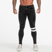 Load image into Gallery viewer, TRAX SKINNY JEANS BLACK WORN