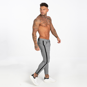 VIENA TROUSERS LIGHT GREY/BLACK
