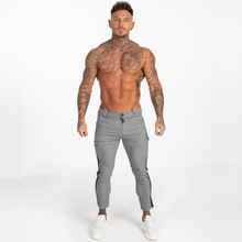 Load image into Gallery viewer, VIENA TROUSERS LIGHT GREY/BLACK