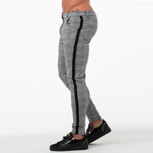 Load image into Gallery viewer, PLAID TROUSERS DARK GREY/BLACK