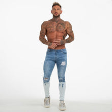 Load image into Gallery viewer, SNOW SKINNY JEANS BLUE - Kakahu Store
