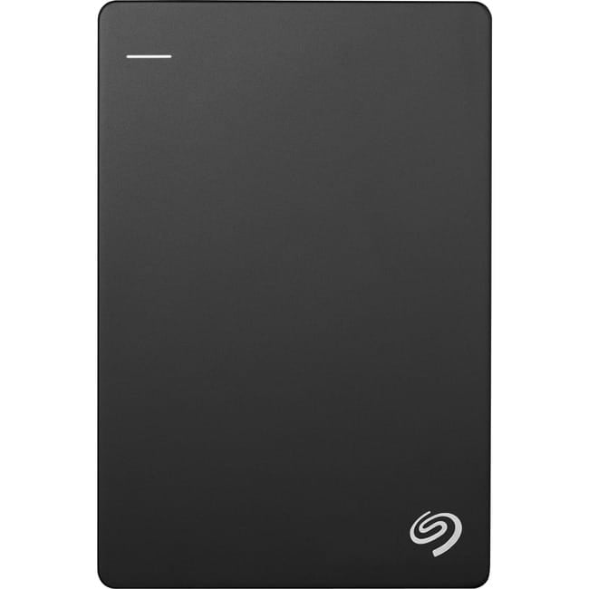Seagate STHN2000400 Backup Plus Slim 2TB External Hard Drive Portable HDD - Black USB 3.0 for PC Laptop and Mac, 1 Year Mylio Create, 2