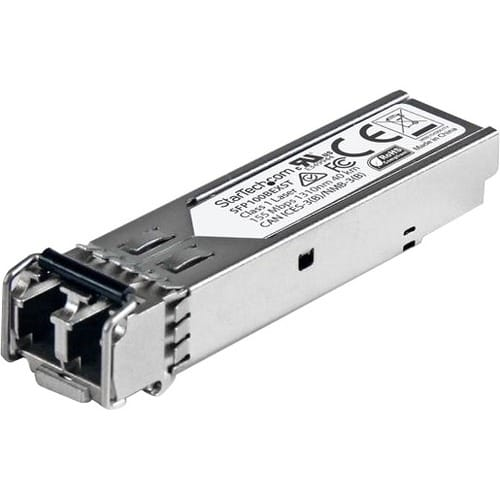 StarTech.com MSA Uncoded Compatible SFP Module - 100BASE-EX - 100MbE Single Mode Fiber (SMF) Optic Transceiver - 100Mb Ethernet SFP - LC