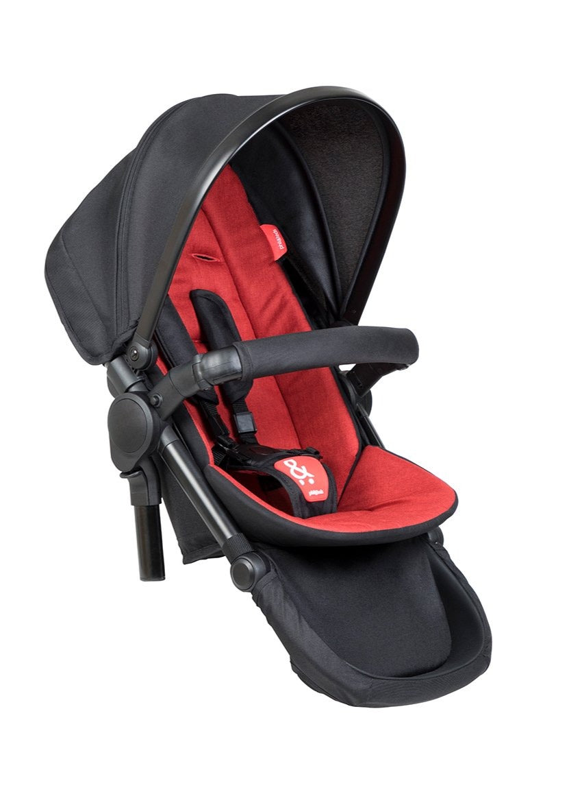Phil & Teds Dash Double Kit Chilli Extra Pushchair Seat