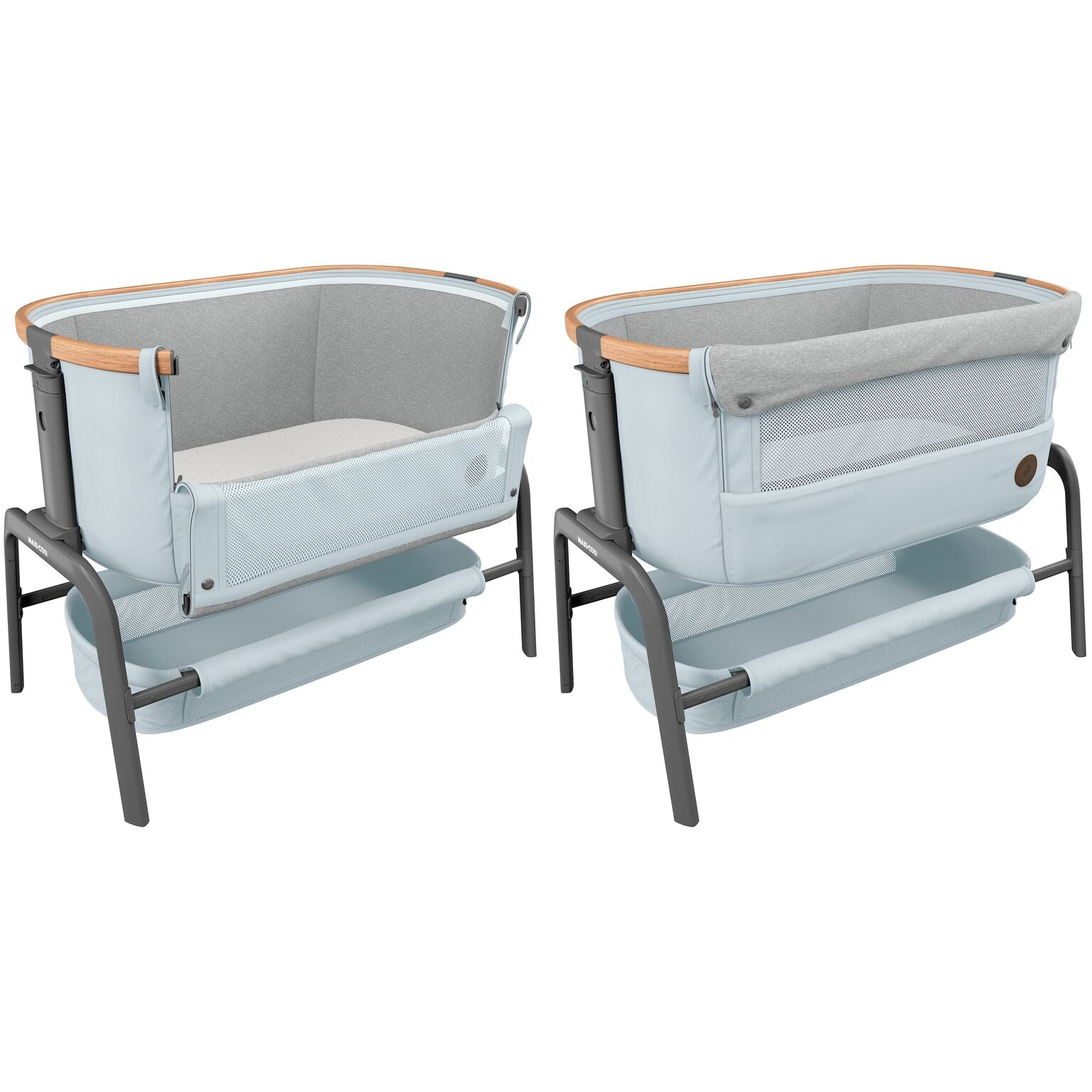 Maxi-Cosi Iora bedside sleeper Next to me Crib gray