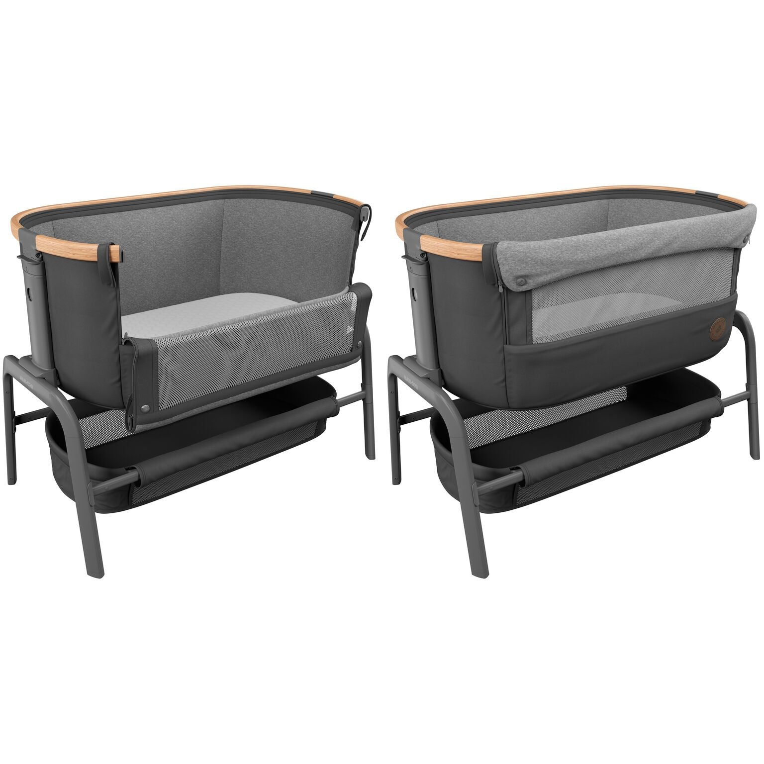 Maxi-Cosi Iora bedside sleeper Next to me Crib graphite