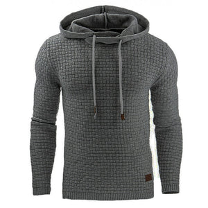 Men's Hoodies Slim Hooded Sweatshirts Mens Coats Male Casual Sportswear Streetwear Brand Clothing N461