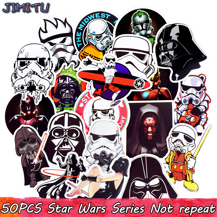 50pcs Mixed Anime Stickers Movie Graffiti JDM Sticker for Kid DIY Skateboard Laptop Luggage Phone Car Bicycle Waterproof Sticker