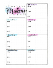 Makeup Bullet Journal: Your Makeup Routine Companion (eBook)