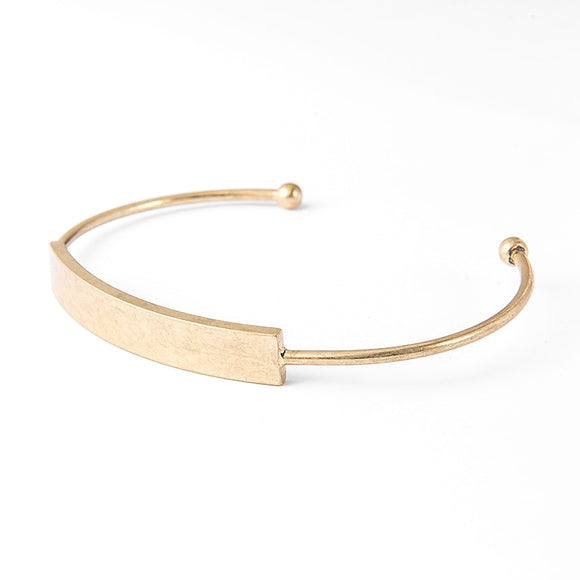 Geometric Rectangle Cuff