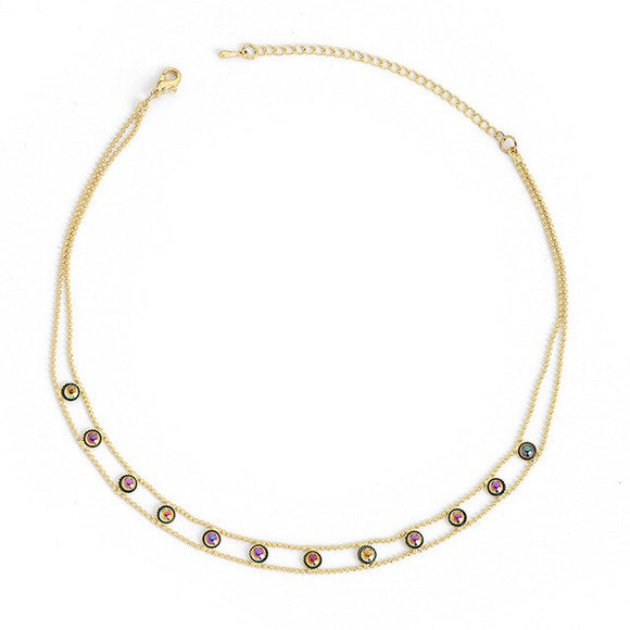 Beaded Chain Choker - Fancourt & Co.