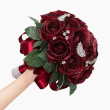 Load image into Gallery viewer, Bespoke Crystal Wedding Bouquet