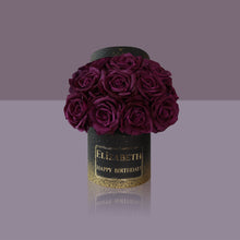 Load image into Gallery viewer, 12 Violette Madonna Rose Box (Black Box)