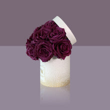 Load image into Gallery viewer, 12 Violette Madonna Rose Box (White Box)
