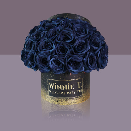 50 Royale Madonna Rose Box (Black Box)