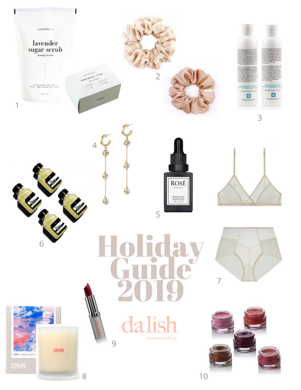 da lish cosmetics: 2019 holiday guide for shopping canadian & ethical brands