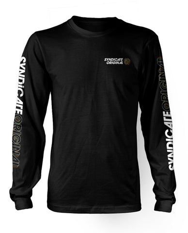 """Venture"" Long Sleeve Black"