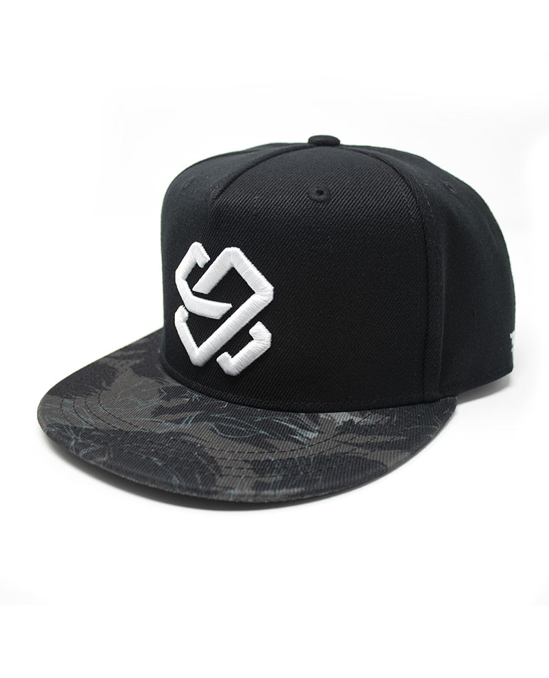 Stealth Monogram Snapback Hat
