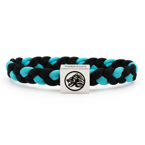 Bracelet 2-pack / Black & White / White, Blue & Black