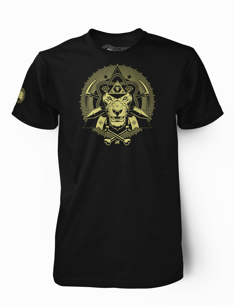 "Men's ""Illuminatee"" Sphinx Light Gold"