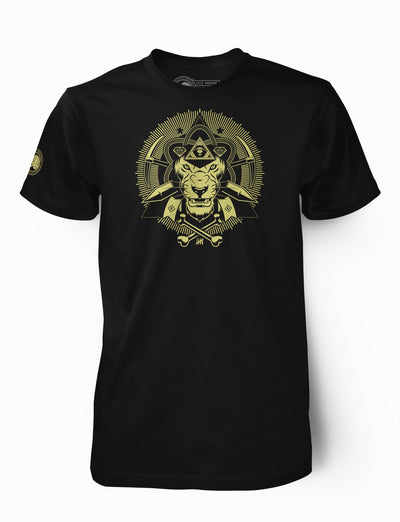 """Illuminatee"" Sphinx Light Gold"