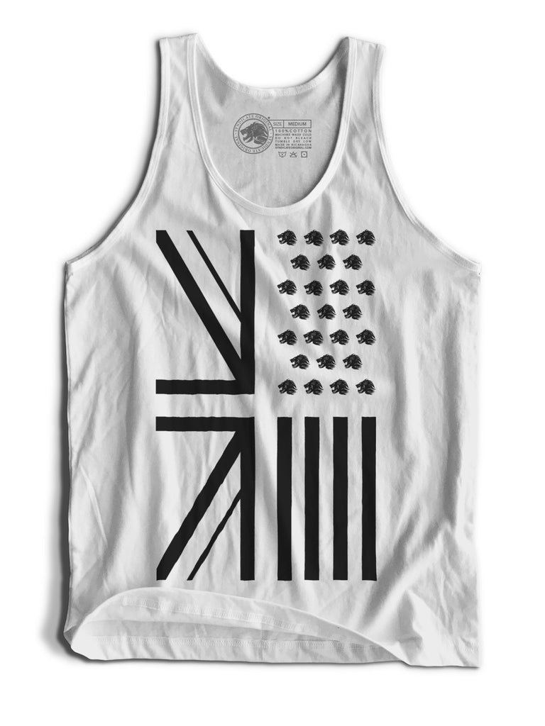 "Men's ""Origins"" White Tank"