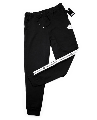 Taped Jogger Black