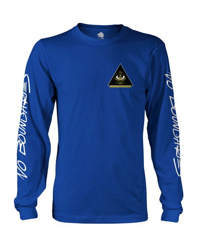 """Vision"" Blue Long Sleeve"