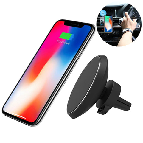 Car Mount Magnetic Wireless Charging Pad