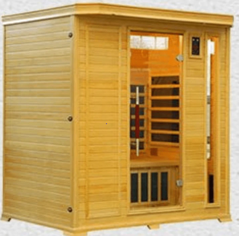 : 5-person infrared sauna
