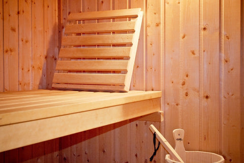 A 5-person sauna installed for a relaxing sauna therapy session.