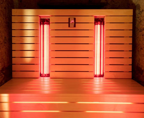a home infrared sauna to improve health and beauty