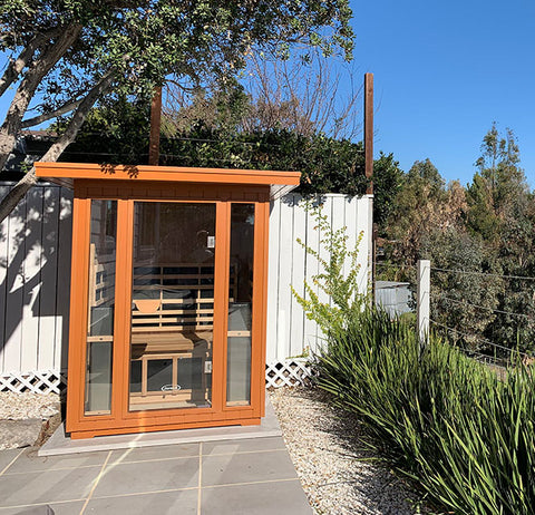 Clearlight Sanctuary Outdoor 2 Infrared Sauna