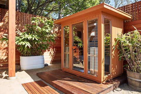 Clearlight Sanctuary Outdoor 5 Infrared Sauna