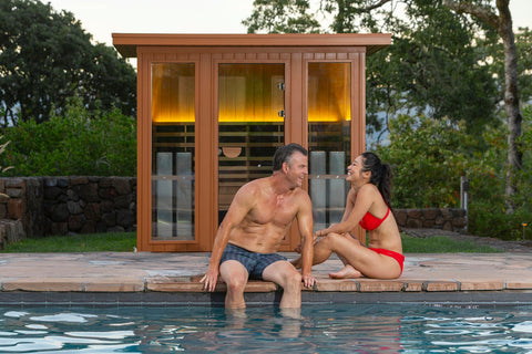 Jacuzzi Clearlight Premier Sauna Outdoors