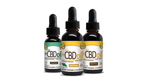 PlusCBD Hemp Oil Drops