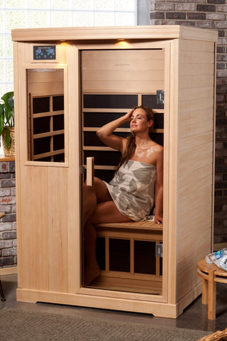 Radiant Health Elite Sauna with carbon infrared heaters