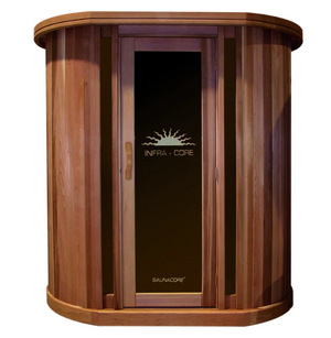 Saunacore Infracore Max Series 3 Person Infrared Sauna (SDTX6 - 4X6)