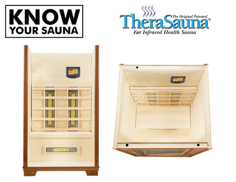 TheraSauna TS4746 1-2 Person Made in USA Infrared Sauna