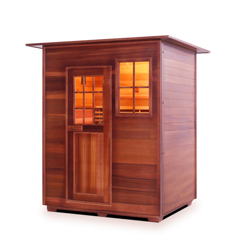 Enlighten MoonLight - 3 Person Outdoor Infrared Sauna