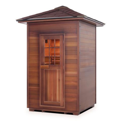 Enlighten MoonLight - 2 Person Outdoor Infrared Sauna