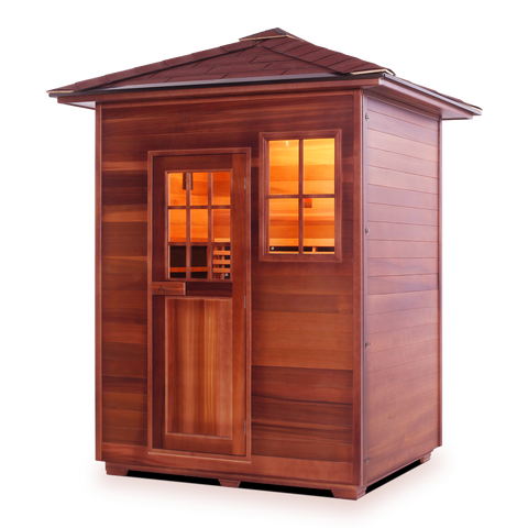 Image of Enlighten SAPPHIRE - 3 Person Outdoor/Indoor Hybrid Sauna